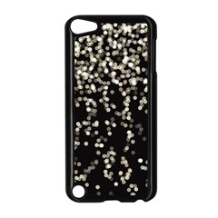 Christmas Bokeh Lights Background Apple Ipod Touch 5 Case (black)