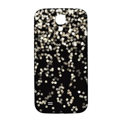Christmas Bokeh Lights Background Samsung Galaxy S4 I9500/i9505  Hardshell Back Case