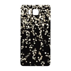Christmas Bokeh Lights Background Samsung Galaxy Alpha Hardshell Back Case