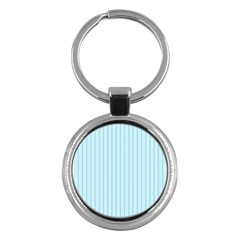 Stripes Striped Turquoise Key Chains (round)