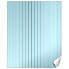 Stripes Striped Turquoise Canvas 16  x 20