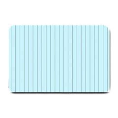 Stripes Striped Turquoise Small Doormat