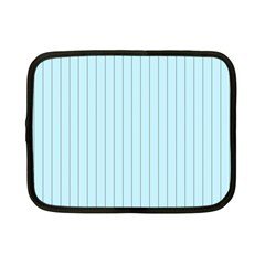 Stripes Striped Turquoise Netbook Case (small)
