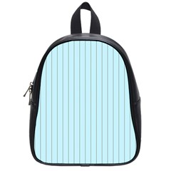 Stripes Striped Turquoise School Bags (small)