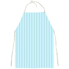 Stripes Striped Turquoise Full Print Aprons