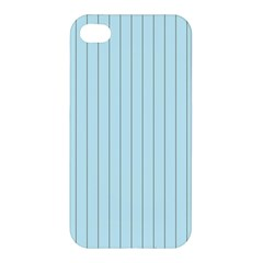 Stripes Striped Turquoise Apple Iphone 4/4s Hardshell Case