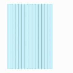 Stripes Striped Turquoise Small Garden Flag (two Sides)
