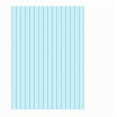 Stripes Striped Turquoise Large Garden Flag (two Sides)