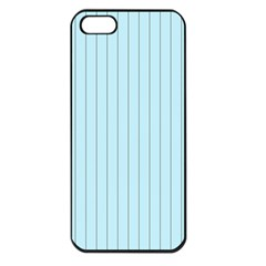 Stripes Striped Turquoise Apple Iphone 5 Seamless Case (black)