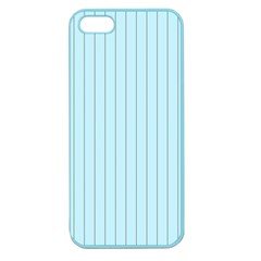 Stripes Striped Turquoise Apple Seamless Iphone 5 Case (color)