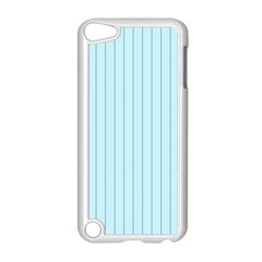 Stripes Striped Turquoise Apple Ipod Touch 5 Case (white)