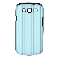 Stripes Striped Turquoise Samsung Galaxy S Iii Classic Hardshell Case (pc+silicone)