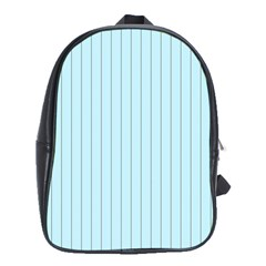 Stripes Striped Turquoise School Bags (xl)