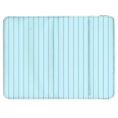 Stripes Striped Turquoise Samsung Galaxy Tab 7  P1000 Flip Case