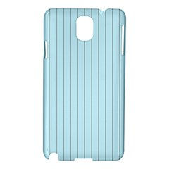 Stripes Striped Turquoise Samsung Galaxy Note 3 N9005 Hardshell Case