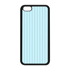 Stripes Striped Turquoise Apple Iphone 5c Seamless Case (black)