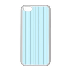 Stripes Striped Turquoise Apple Iphone 5c Seamless Case (white)
