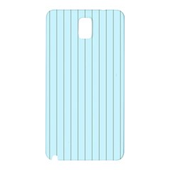 Stripes Striped Turquoise Samsung Galaxy Note 3 N9005 Hardshell Back Case