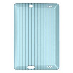 Stripes Striped Turquoise Amazon Kindle Fire Hd (2013) Hardshell Case