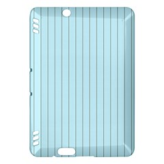 Stripes Striped Turquoise Kindle Fire Hdx Hardshell Case