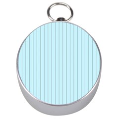 Stripes Striped Turquoise Silver Compasses