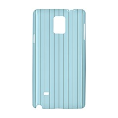 Stripes Striped Turquoise Samsung Galaxy Note 4 Hardshell Case