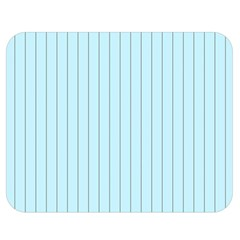 Stripes Striped Turquoise Double Sided Flano Blanket (medium)