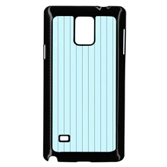 Stripes Striped Turquoise Samsung Galaxy Note 4 Case (black)