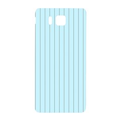 Stripes Striped Turquoise Samsung Galaxy Alpha Hardshell Back Case