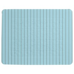 Stripes Striped Turquoise Jigsaw Puzzle Photo Stand (rectangular)