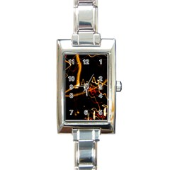 Abstract Rectangle Italian Charm Watch