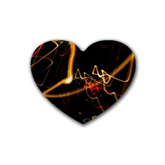 Abstract Heart Coaster (4 Pack)