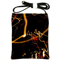 Abstract Shoulder Sling Bags