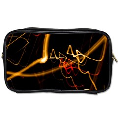 Abstract Toiletries Bags