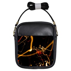 Abstract Girls Sling Bags