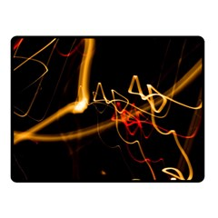 Abstract Fleece Blanket (small)