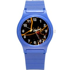 Abstract Round Plastic Sport Watch (s)