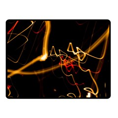 Abstract Double Sided Fleece Blanket (small)