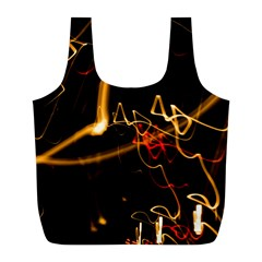 Abstract Full Print Recycle Bags (l)