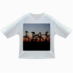 Bicycles Wheel Sunset Love Romance Infant/Toddler T-Shirts