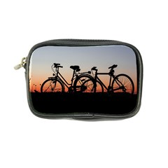 Bicycles Wheel Sunset Love Romance Coin Purse