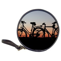 Bicycles Wheel Sunset Love Romance Classic 20 Cd Wallets