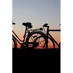 Bicycles Wheel Sunset Love Romance 5 5  X 8 5  Notebooks