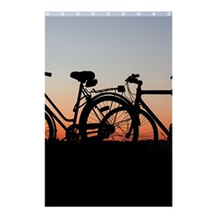 Bicycles Wheel Sunset Love Romance Shower Curtain 48  X 72  (small)