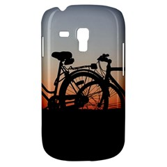 Bicycles Wheel Sunset Love Romance Galaxy S3 Mini