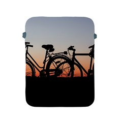 Bicycles Wheel Sunset Love Romance Apple Ipad 2/3/4 Protective Soft Cases