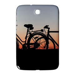 Bicycles Wheel Sunset Love Romance Samsung Galaxy Note 8 0 N5100 Hardshell Case