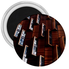 Abstract Architecture Building Business 3  Magnets