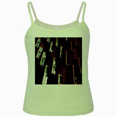 Abstract Architecture Building Business Green Spaghetti Tank