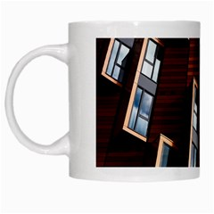 Abstract Architecture Building Business White Mugs